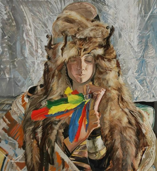 Jerome Witkin-Native American-1974